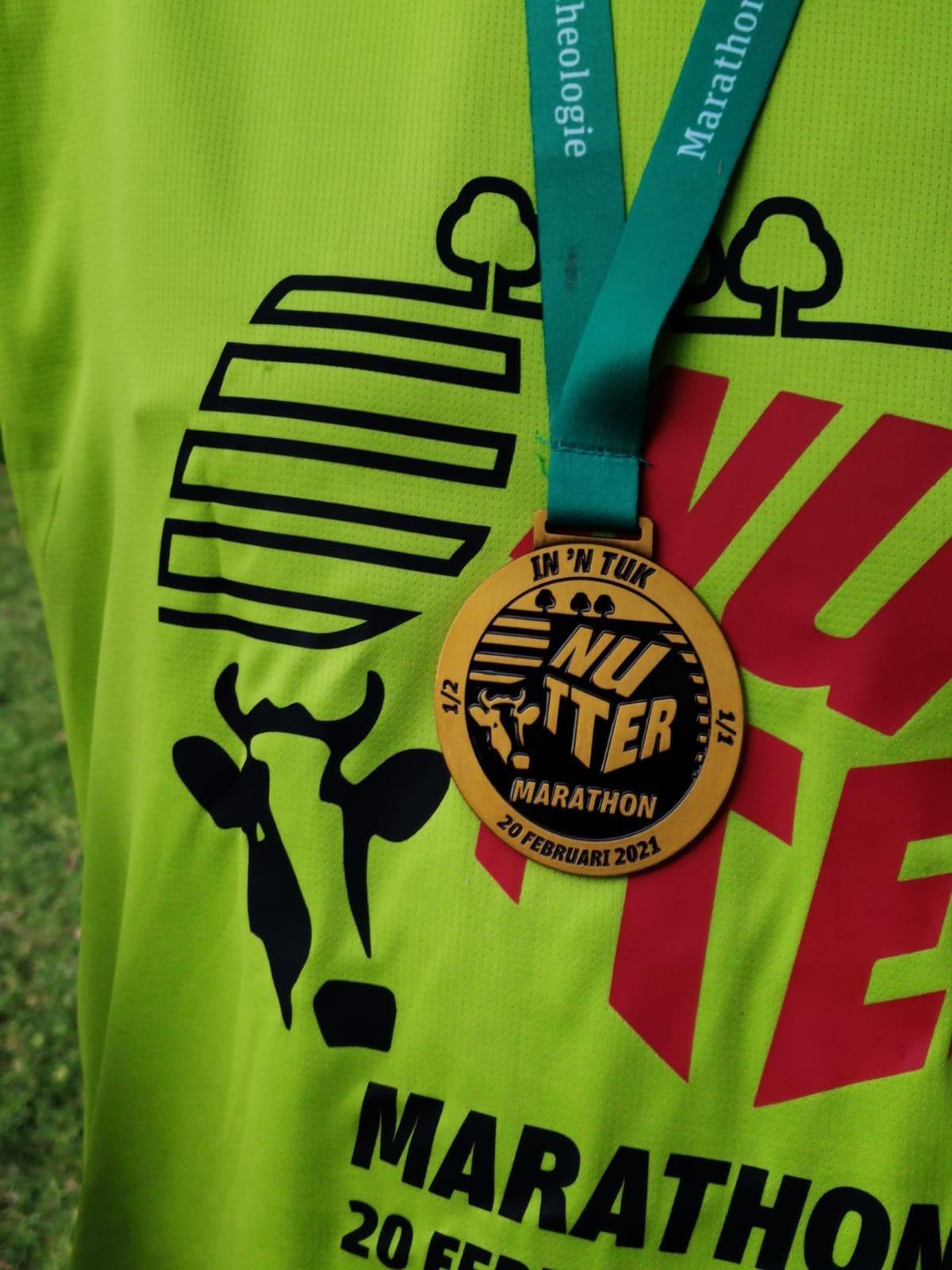 Nutter Marathon 20 februari 2021
