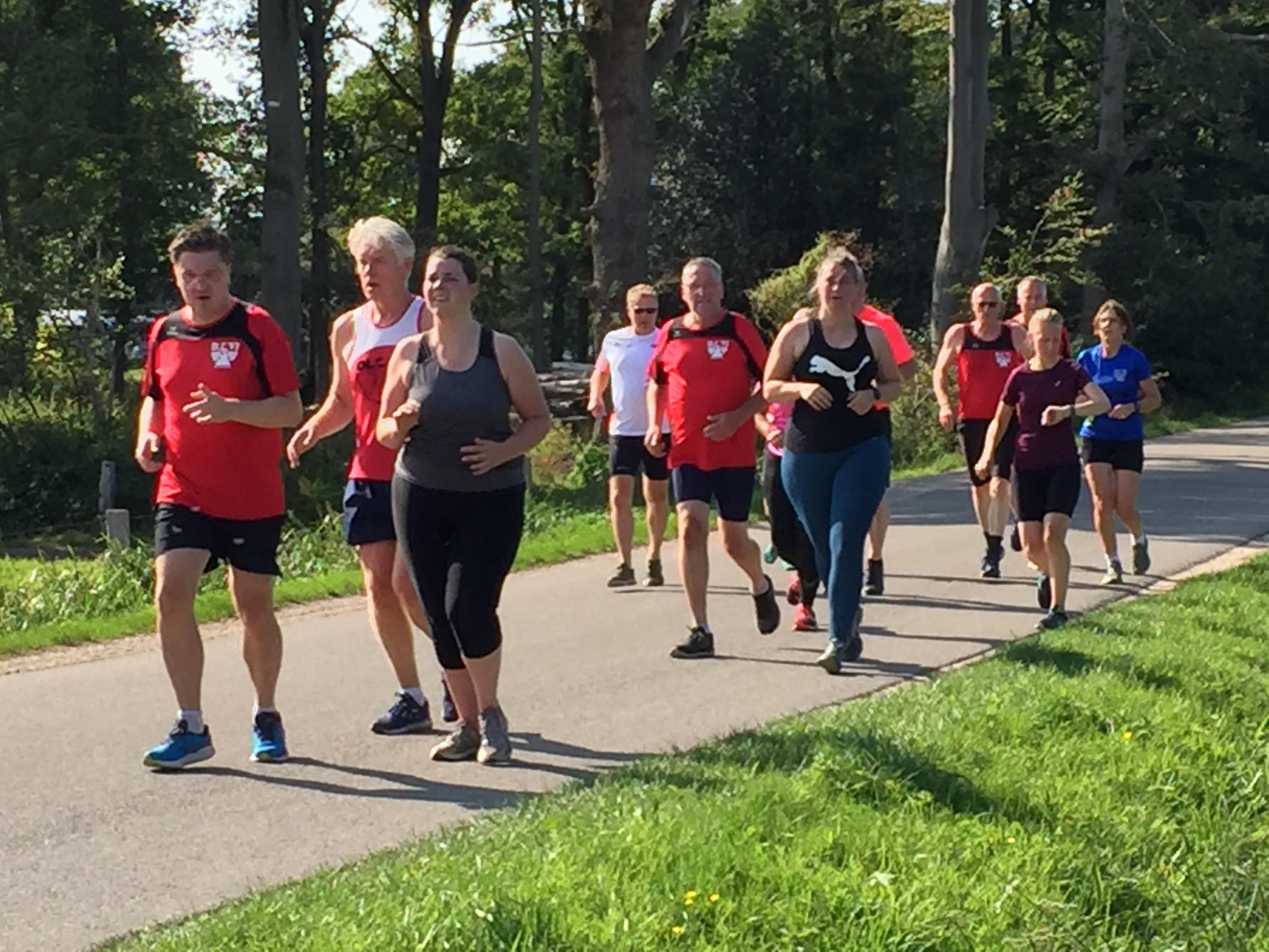 Foto's beginnersgroep 5 km
